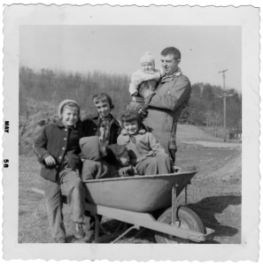 Bill-at-the-House-at-9-Months_April-1958